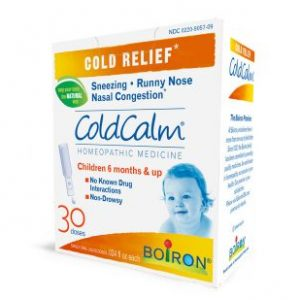 ColdCalm liquid doses box